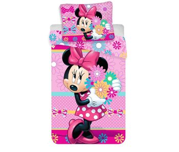 Disney Minnie Mouse Blumen Bettbezug 140x200 + 70x90cm