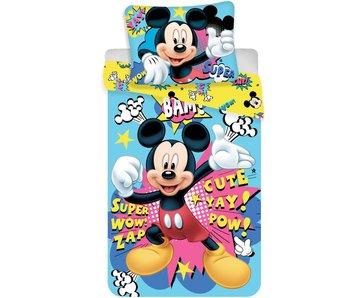 Disney Mickey Mouse Mikrofaser-Bettwäsche 140x200 + 70x90cm