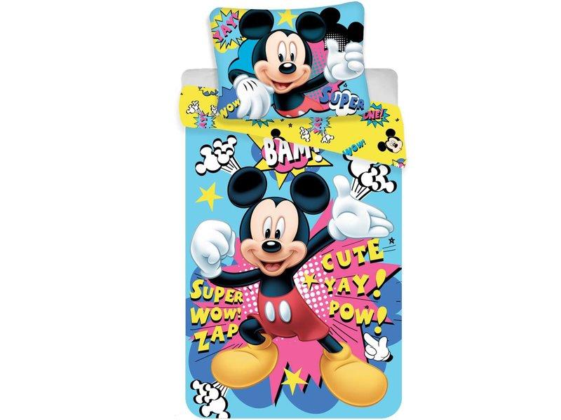 Disney Mickey Mouse Bam - Dekbedovertrek - Eenpersoons - 140 x 200 cm - Multi