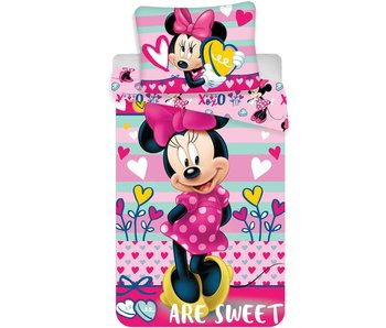 Disney Minnie Mouse Dekbedovertrek Microfibre 140x200+70x90cm