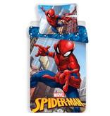 Spider-Man Jump - Dekbedovertrek - Eenpersoons - 140 x 200 cm - Multi