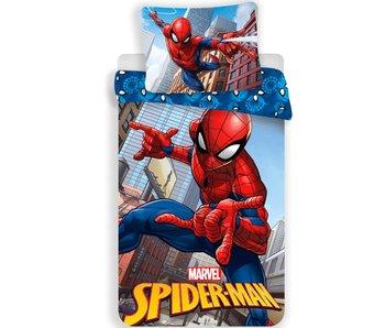 Spider-Man Mikrofaser-Bettwäsche 140x200 + 70x90cm
