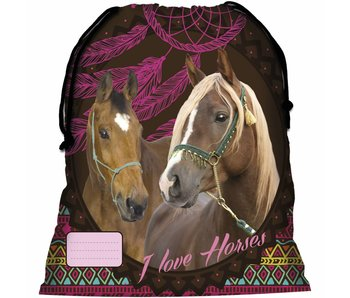 Animal Pictures Gymbag Paarden Dreamcatcher