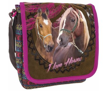 Animal Pictures Shoulder bag Horses Dreamcatcher