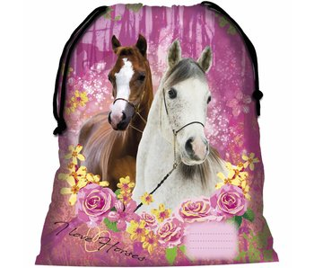 Animal Pictures Gymbag Paarden Forest