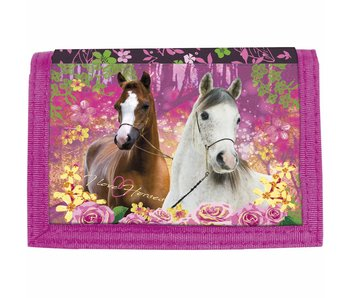 Animal Pictures Brieftasche Pferde Forest