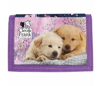 Cleo & Frank Portemonnee Puppy Friends