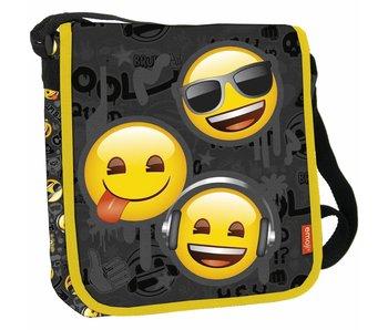 Emoji Schultertasche Cool Squad