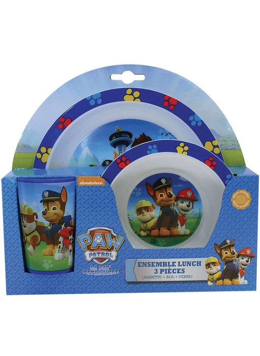 PAW Patrol Breakfast set 3 pieces
