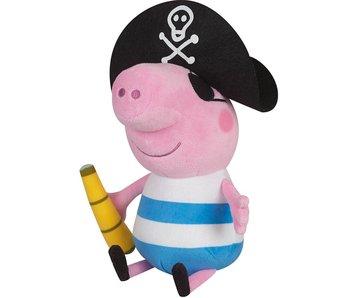 Peppa Pig Jouet câlin George Pirate 25 cm