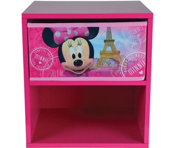 Disney Minnie Mouse Bedside table with drawer
