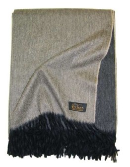 Glen Saxon Cashmereplaid Double 122 black/natural