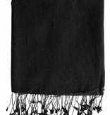 C.O. Original Pashmina Schal 70x205 cm - schwarz