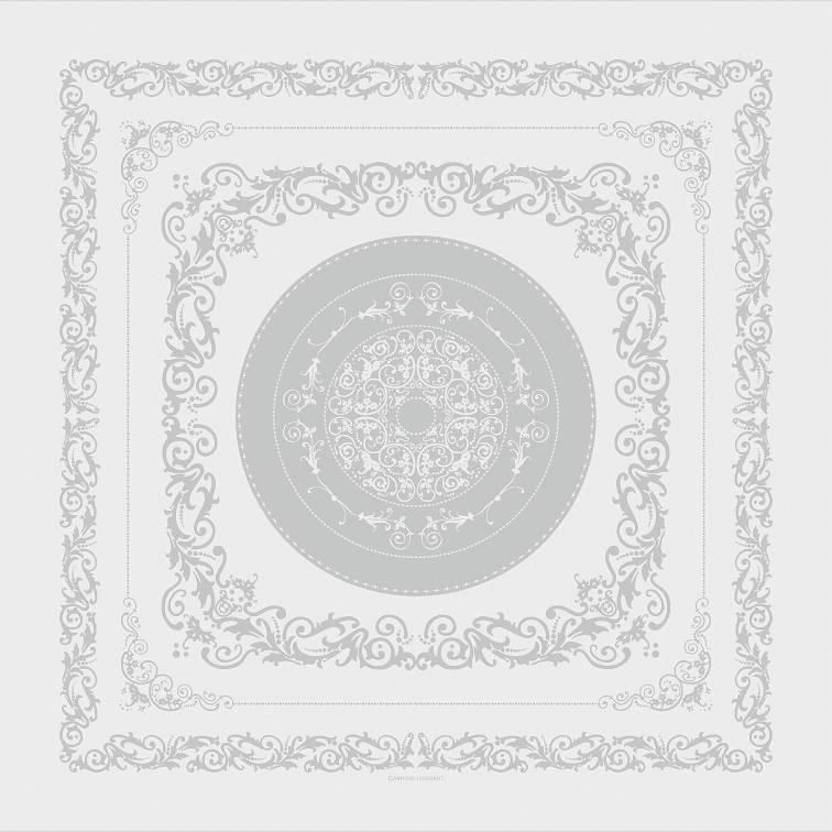 Garnier Thiebaut Garnier Thiebaut Servietten 54x54 cm Comtesse blanc