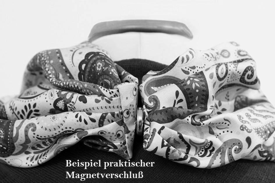 Eagle Produkts Schönes Seidencollier 100% Seide 20x70 cm - Schal Seide