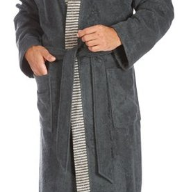 Egeria Herren Sauna Bademantel Bruno slate grey 082
