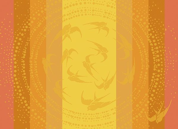 Garnier Thiebaut Garnier Thiebaut Tischset's (4-er Set) 55x40 cm Envolee soleil