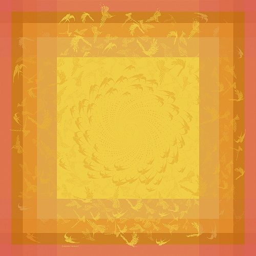 Garnier Thiebaut Garnier Thiebaut Servietten 55x55 cm Envolee soleil