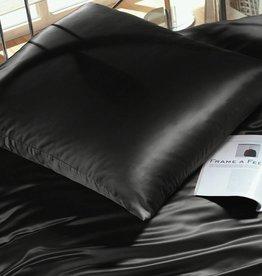 Cellini Design Seidenbettwäsche Mauritius Uni schwarz