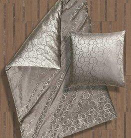 Cellini Design Seidenbettwäsche Amadeus glanz grau