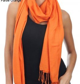 Original Pashmina Schal 70x200 cm - orange