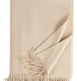 Eagle Produkts Windsor Cashmereplaid 100% Kaschmir Farbe creme