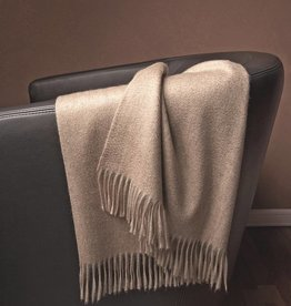Eagle Produkts Windsor Cashmereplaid 100% Kaschmir Farbe natur