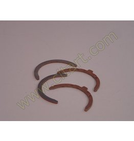 Half bearings crankshaft 66- 3,16 5 paliers - 2 parts