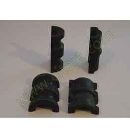 Rubber gear box support - 2 parts