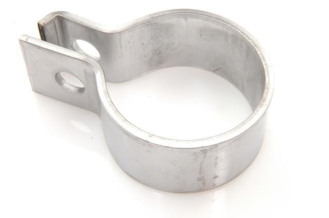Collar flexible pipe - main silencer Stainless Steel Nr Org: 5453268