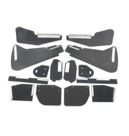 Mud flap kit berline - 8 parts