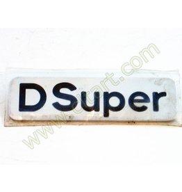 """Monogramme """"d super"""" adhésive 72-"""