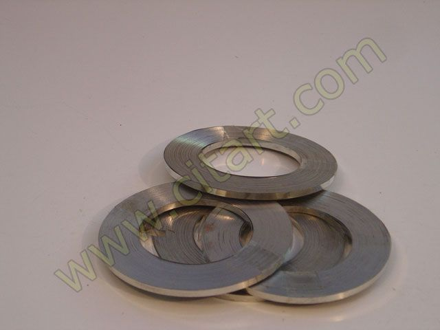 Bande Inox 25m + 100 grapas 5mm