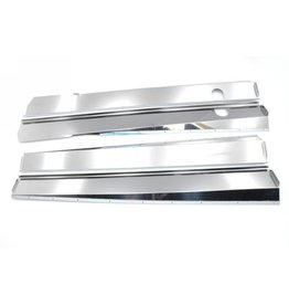 Body panels stainless steel shining - 4 parts