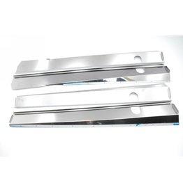 Dorpel RVS glimmend break / cabriolet - 4 stuks