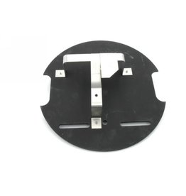 Plaque support bidon roue de secours