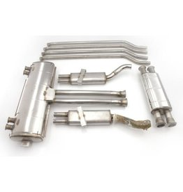 Stainless exhaust system SM