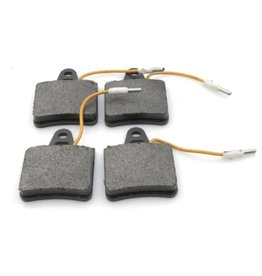 Rear brake pads with connection wire SM 72-
