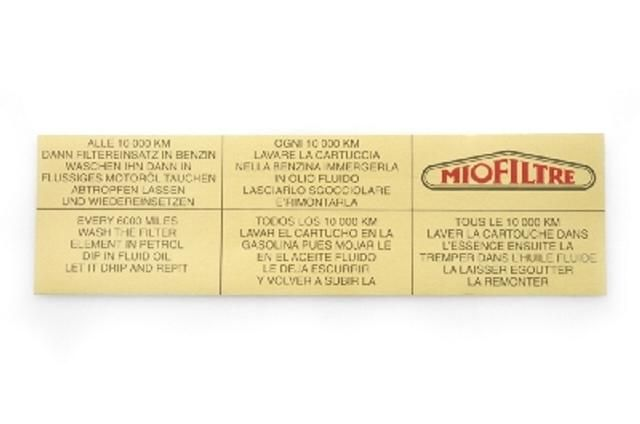 Adhesivo miofiltre