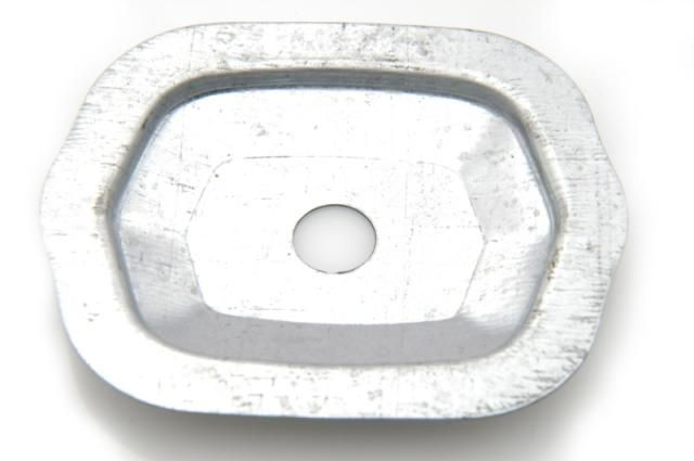 Fixation plate rear reflector pallas Nr Org: DS57998