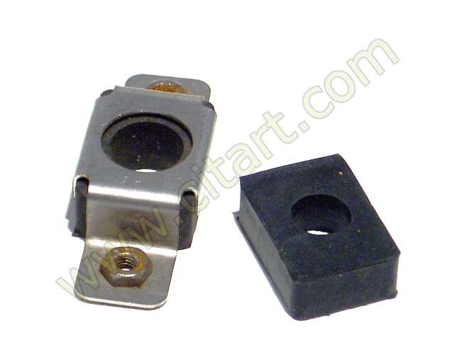 Bracket centring rear wing square Stainsless steel Nr Org: DX851224A