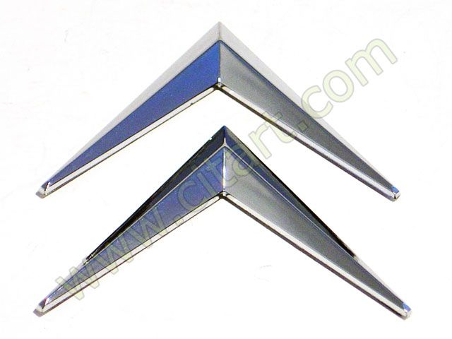 Chevrons chromium plated adhesive Nr Org: DM8544