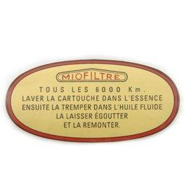 Adhesivo miofiltre -65 3 paliers