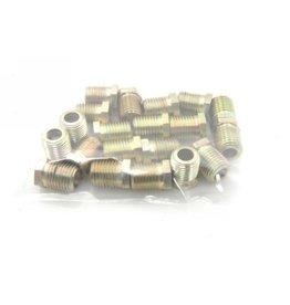 Nut hydraulic tube 6,35mm - 25 parts