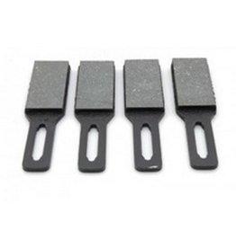Plaquetas freno mecanico - 4 piezas