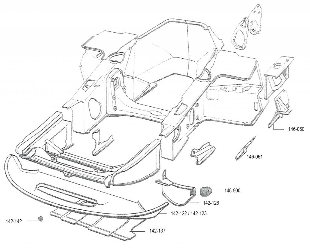 Chapa de revistimento polyester 68- Nr Org: DX853299A