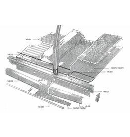 Tôle réparation plancher gauche
