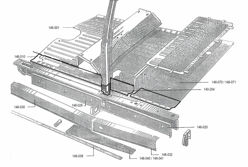Vertical lining left Nr Org: D74387
