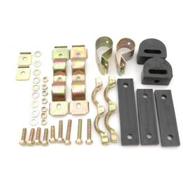 Exhaust system fixing kit rear