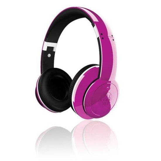 ICY BOX IB-HPh2-Pu - Stereo Kopfhörer mit aktiver Geräuchreduzierung